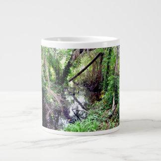 Caer los árboles Green River deposita Posterized Tazas Jumbo
