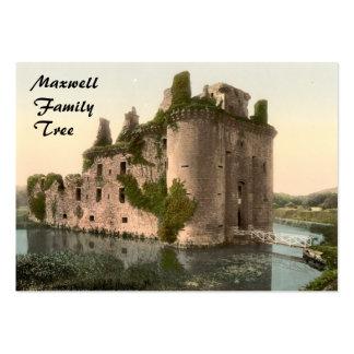 Caerlaverock Castle, Dumfries, Scotland Business Card