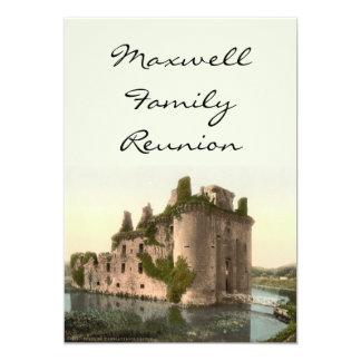 Caerlaverock Castle, Dumfries, Scotland Card