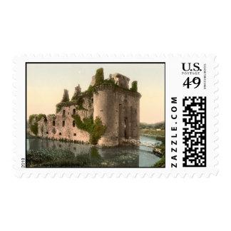 Caerlaverock Castle, Dumfries, Scotland Postage Stamp
