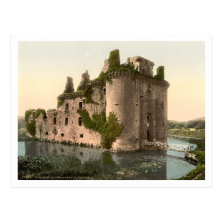 Caerlaverock Castle, Dumfries, Scotland Postcard