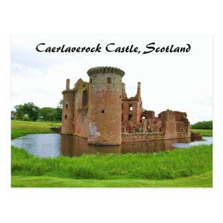 Caerlaverock Castle Postcard