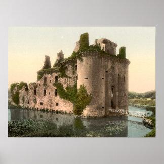 Caerlaverock Castle, Scotland Archival Print