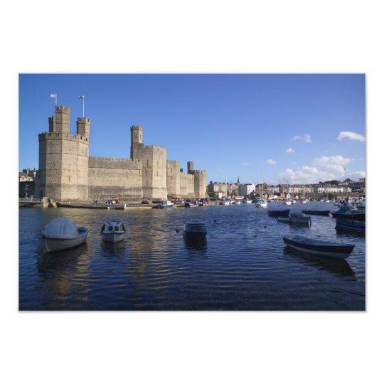 Caernarfon Castle, Gwynedd, Wales 2 Photo Print