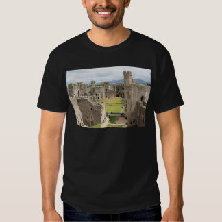 Caernarfon Castle, Wales, United Kingdom 1 Tshirts