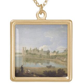 Caernarvon Castle, c.1745-50 (oil on canvas) Necklace