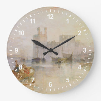 Caernarvon Castle Large Clock