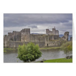 Caerphilly Castle Greeting Cards