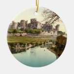 Caerphilly Castle, Wales Christmas Tree Ornament