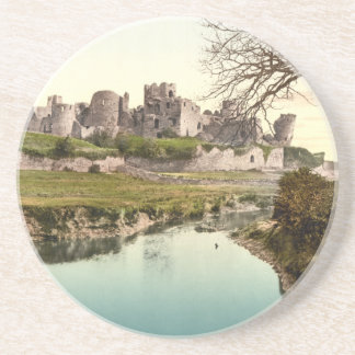 Caerphilly Castle, Wales Drink Coaster