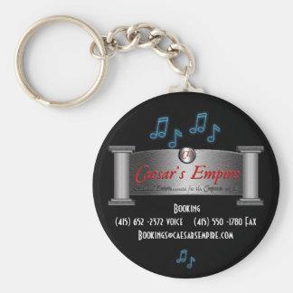 Caesar Empire Logo Basic Round Button Keychain