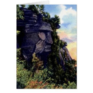 Caesar Head State Park South Carolina Formation Greeting Cards