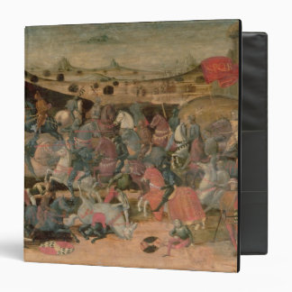 Caesar Triumphing in Battle (tempera on panel) 3 Ring Binder