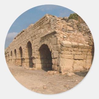 Caesarea Maritima - Israel Round Sticker