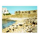 Caesarea - restos del puerto romano tarjetas postales
