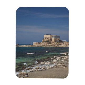 Caesarea ruins of port built by Herod the Great 2 Magnet
