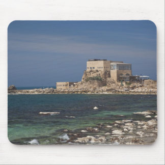 Caesarea ruins of port built by Herod the Great 2 Mouse Pad