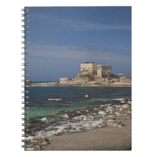 Caesarea ruins of port built by Herod the Great 2 Notebook