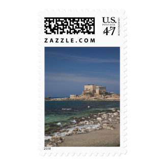 Caesarea ruins of port built by Herod the Great 2 Postage
