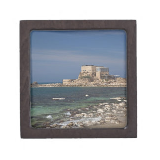 Caesarea ruins of port built by Herod the Great 2 Premium Gift Boxes