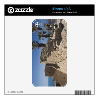 Caesarea ruins of port built by Herod the Great 3 Decal For iPhone 4