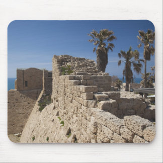 Caesarea ruins of port built by Herod the Great 3 Mouse Pad