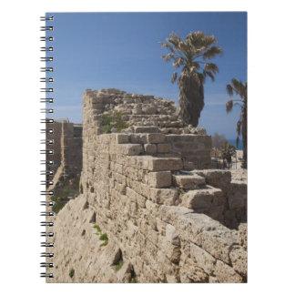 Caesarea ruins of port built by Herod the Great 3 Notebook