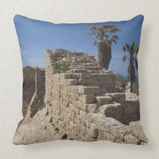 Caesarea ruins of port built by Herod the Great 3 Pillows