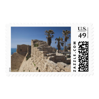 Caesarea ruins of port built by Herod the Great 3 Postage