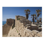 Caesarea ruins of port built by Herod the Great 3 Postcard