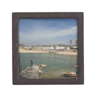 Caesarea ruins of port built by Herod the Great Premium Jewelry Box
