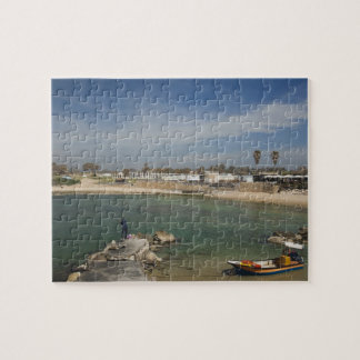 Caesarea ruins of port built by Herod the Great Jigsaw Puzzles