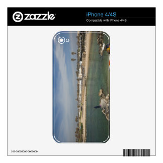 Caesarea ruins of port built by Herod the Great Skins For iPhone 4S