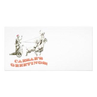 CAESARS Greetings Picture Card