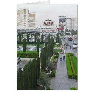Caesars Palace de los casinos de los hoteles de la Tarjeta De Felicitación
