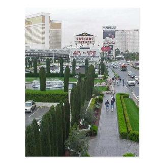 Caesars Palace de los casinos de los hoteles de la Tarjetas Postales