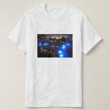 everydaylifesf Caesars Palace Forum Shops Fountain T-shirt