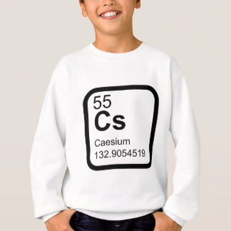 Caesium - Periodic Table science design Sweatshirt