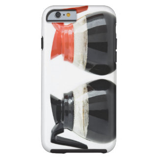 Caf. and Decaf. Coffee Pots on White. Tough iPhone 6 Case