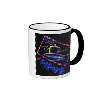 Caf-FIEND Coffee Mug