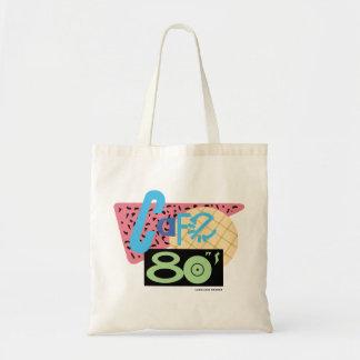 Cafe 80s tote bag