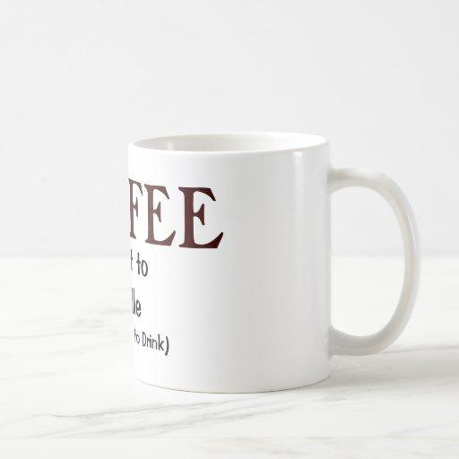 Café, a caliente a dirigir, (sino perfeccionar par taza básica blanca