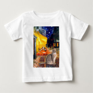 Cafe - Abyssinian (blue 21) Baby T-Shirt