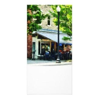 Cafe Albany NY Custom Photo Card