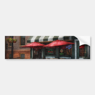 Café - Albany NY - Pub de Mc Geary Etiqueta De Parachoque