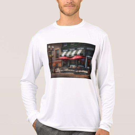 Café - Albany, NY - Pub de Mc Geary Camiseta