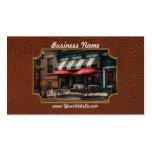 Café - Albany, NY - Pub de Mc Geary Plantillas De Tarjetas Personales