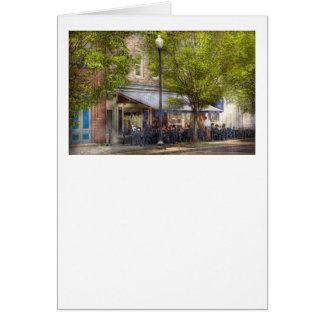 Cafe - Albany, NY - Victory Cafe Greeting Card