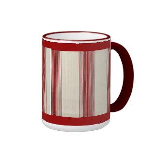 café alineado taza de dos colores