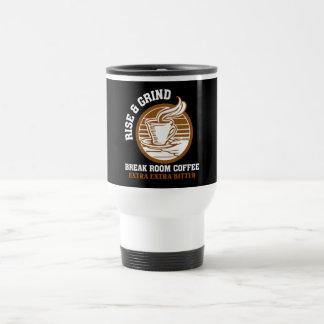 Café amargo adicional para los empleados taza de viaje